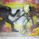 Kenner 1992 Warrior Alien vs Renegade Predator Deluxe Action Figure Set New