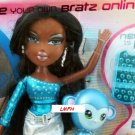 MGA Entertaiment Bratz Be-Bratz.com Dark Skin & Hair Sasha Doll with E-Pet, Mouse, Pad, USB Key NEW