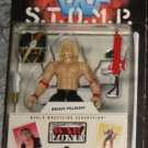 WWF WWE Jakks Pacific S.T.O.M.P. War Zone Series 1 - Brian Pillman Action Figure - With Accessories