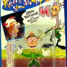 Mattel Nicktoons The Ren & Stimpy Show Army Ren Hoek with Bug-Eyed Action! New