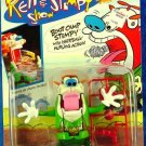 Mattel Nicktoons The Ren & Stimpy Show Boot Camp Stimpy with HairBall-Hurling Action! New