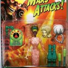 Trendmasters Mars Attacks Martian Spy Girl Action Figure with Firing Freeze Ray Blaster New