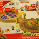 Fisher Price Geo Trax Transportation System On-the-Go Zoo Train Playset NEW