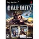 Call of Duty Legacy (Includes Finest Hour, Big Red One) for Sony PlayStation 2 NEW PS2 GAME