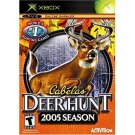 Cabela's Deer Hunt 2005 Season for Microsoft Xbox Black Label NEW