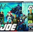 Hasbro 25th Anniversary GI Joe Greatest Battles DVD Pack - 4 Action Figures Boxset NEW