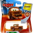 Mattel Disney Pixar CARS Movie 1:55 Die Cast with Lenticular Eyes Fred CHASE with Fallen Bumper