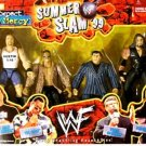 WWF WWE Summer Slam '99 Bonecrunchers Steve Austin, The Rock, Vince McMahon and the Undertaker