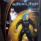 WWE TNA Jakks Pacific Wrestling Backlash Series 1 Jeff Hardy Action Figure Teal Blue Hair New