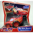 DISNEY PIXAR CARS Animated Movie Rip Stick Racer Lightning McQueen Supercharged Background NEW