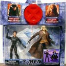 Toy Biz Marvel X-Men The Movie Hugh Jackman as WOLVERINE vs Tyler Mane as SabreTooth action figures