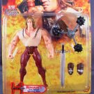 Toy Biz Hercules the Legendary Journeys Hercules I Action Figure with Iron Spiked Spinning Mace New