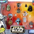 Star Wars MicroMachines The Original Scale Miniature Figure Heads Collection Micro Machines New