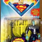 Kenner Superman from the Animated Series Evil Alien Brainiac Action Figure with Blasting Space Sled