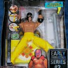 WWE Jakks Deluxe Aggression Series 2 Early Production REY MYSTERIO Action Figure with 619 Post New