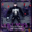 The Amazing Spider Man Stealth Black Venom with Sneak Attack Symbiote Special Collector Series