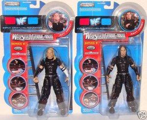 WWF WWE TNA Wrestlemania XVII 17 series 8 The Hardy Boys Jeff and Matt