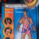 WWF WWE Jakks Pacific Wrestlemania XVII 17 series 9 Real Scan Tron Ready Kurt Angle Action Figure