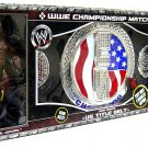 WWE Jakks United States US Spinning Championship Belt with John Cena & Orlando Jordan Action Figures