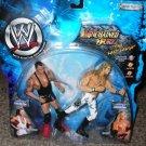 "WWF WWE Jakks Pacific Unchained Fury "" The Last Laugh ""  Kurt Angle vs Edge Action Figures New"