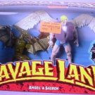 Toy Biz Marvel X-Men Savage Land Angel & Sauron Action Figures New