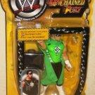 WWF WWE Jakks Raw Unchained Fury Hurricane Real Scan Action Figure Yellow Card New