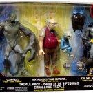 Mattel Batman EXP Extreme Power Triple Pack Clayface, Ventriloquist with Scarface and Zipline Batman