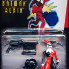 The Adventures of Batman and Robin Harley Quinn With Knockout Punching Glove and Trick Pistol New