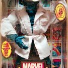 Toy Biz Marvel Legends Icons The Beast Blue fur VARIANT VERSION 12 inch Action Figure with Lab Coat