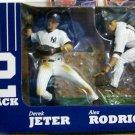 McFarlane MLB New York Yankees Derek Jeter & Alex Rodriguez  Action Figure 2-Pack New