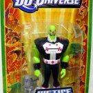 Mattel DC Universe Justice League Unlimited Fan Collection Brainiac Action Figure New