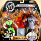 WWE Jakks Pacific Adrenaline Series 6 Tag Team Super Heroes Hurricane & Rosey Action Figure 2 Pack