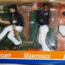 McFarlane MLB Major League Baseball New York Mets Wright, Martinez and Delgado Action Figures