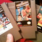 3 USED Nintendo Cartridge Games Wrestlemania, Wrestlemania Challenge and Wrestlemania Steel Cage