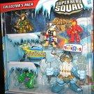 Hasbro Marvel Super Heroes Squad Thor, Iron Man, Hulk, Savage Frost Giant, Marvels Enchantress &