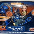 MGA Entertaiment Bratz Girlz Stylin Rides Motorcycle Style with Exclusive MEYGAN Doll NEW