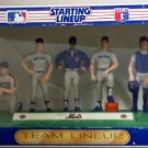 Kenner MLB Baseball Team Starting Lineup NY New York Mets 9 Figures Limited Collector's Edition NEW