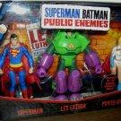 Mattel DC Comics Superman Batman Public Enemies - Superman, Lex Luthor and Power Girl Action Figure
