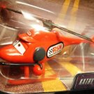 DISNEY PIXAR CARS Animated Movie KATHY COPTER # 31 1:55 Die Cast The World of Cars WOC New