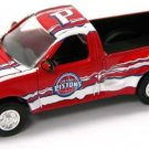 """NBA Die Cast Ertl Collectibles Classic Rides Ford F-150 Truck """"Slammed"""" 1:64 Detroit Pistons NEW"""