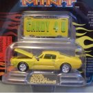 Racing Champions Mint Hot Rods Issue #3 1968 Ford Mustang with die cast emblem Candy 4 U Truck