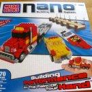 Mega Bloks ( 5983 ) Nano Building System Off-Shore Racing 470pc  Light & Sound FX NEW