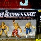 WWE Jakks Pacific Micro Aggression Series 1, John Cena, Triple H & Shawn Michaels Action Figures New