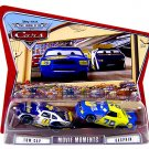 DISNEY PIXAR CARS World Of Cars Movie Moments 2 Pack - Tow Cap & Gasprin [Variant Package!] WOC New