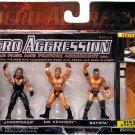 WWE Jakks Pacific Micro Aggression Series 5, Undertaker, Mr. Kennedy & Batista Action Figures New