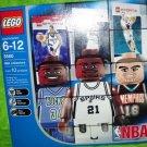 LEGO Sports NBA Collectors 10 pcs. Tim Duncan, Ray Allen & Pau Gasol figures 3560 NEW