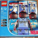 LEGO Sports NBA Collectors 10 pcs. Tracy McGrady, Chris Webber, Allan Houston 3567 NEW