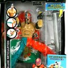 WWE Jakks Pacific Action Figure Rey Mysterio Deluxe Aggression Best of 2006 with Spinning 619 New