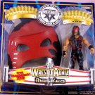 WWE Jakks Pacific Wrestlemania XX 20 Masked Kane Action Figure with Mask New