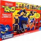Fisher Price TRIO Building System DC Super Friends Playset Batcave Super Mega Set New